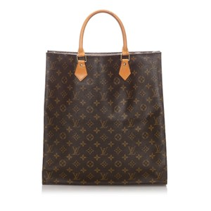 Louis Vuitton 0clvto069 Vintage Leather Tote in Brown