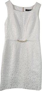 Ellen Tracy Lace Sleeveless Sheath Dress