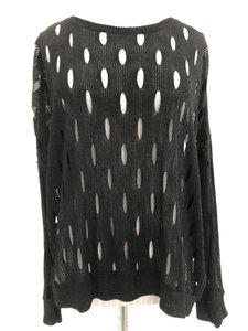 Generation Love Cut Out Sheer Usa Cut Out Sweater