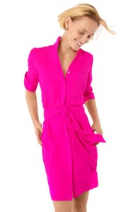 Gretchen Scott short dress Pink on Tradesy