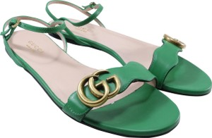 Gucci Marmont Thongs Marmont green Sandals