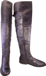 Kenneth Cole Reaction Riding Equestrian Over The Knee Woman Size 8m black Boots