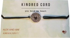 Alex and Ani NWT Alex and Ani Kindred Heart Cord Bracelet