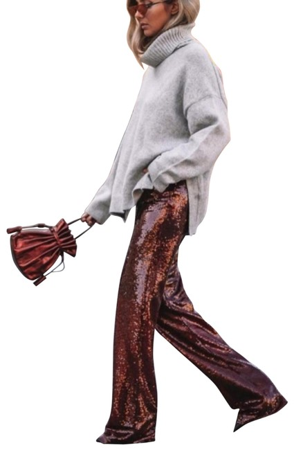 Item - Burgundy Sequin (2074) Pants Size 2 (XS, 26)