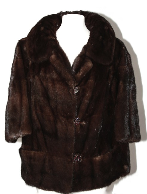 Unbranded Brown Mink Medium Coat Size 8 (M) Unbranded Brown Mink Medium Coat Size 8 (M) Image 1