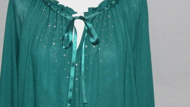 French Laundry Top Teal
