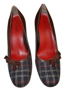 Isabella Fiore brown / black tweed pattern Pumps