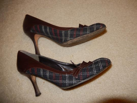 Isabella Fiore Size 8.5 M 8.5m 8.5m Size 8 Size 8.5 brown / black tweed pattern Pumps
