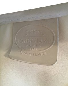 Longchamp Tote in white