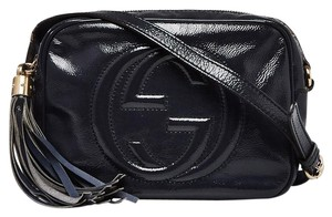 Gucci Gold Hardware Gg Guccissima Quilted Soho Disco Shoulder Bag