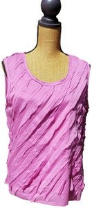 Talbots Sleeveless Lined Top Lavender