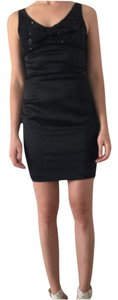 Betsey Johnson Lbd Sequined Satin Dress