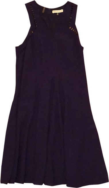 Item - Purple Work/Casual/Cocktail Mid-length Short Casual Dress Size 2 (XS)