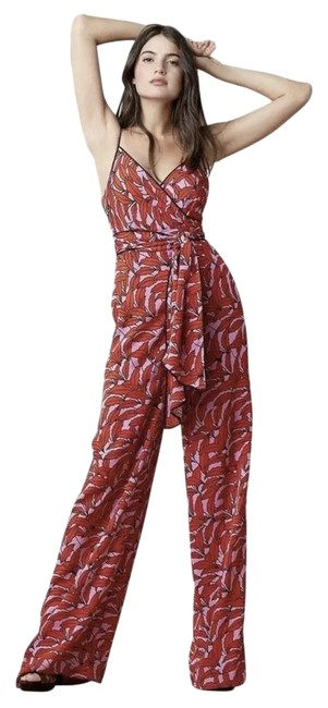 Item - Red Anthropologie Size 10 Lips Barry Romper/Jumpsuit