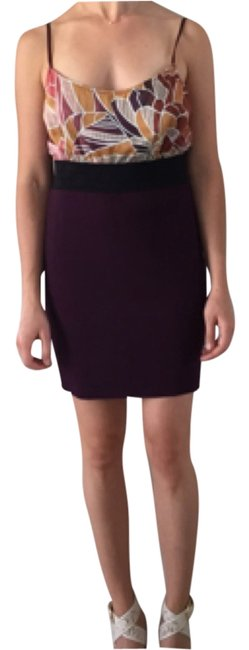 Free People short dress Burgundy Twofer Two-tone on Tradesy