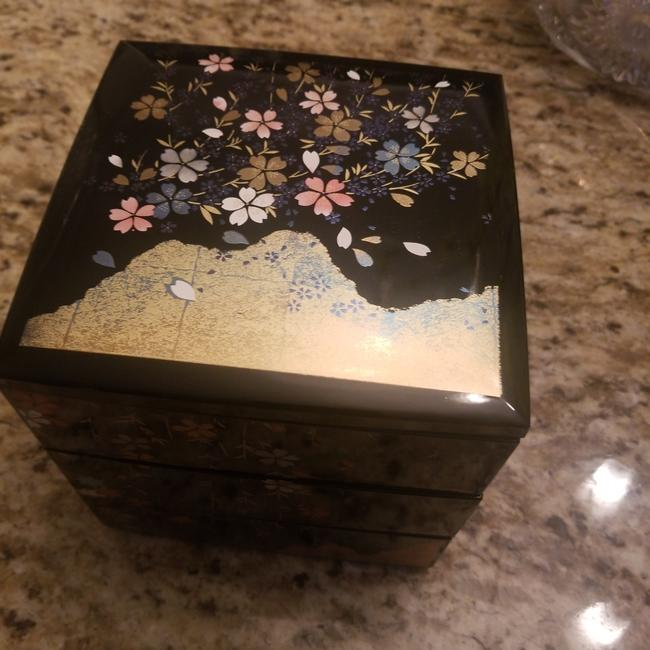 Item - Box Lacquer Jewelry Vintage Casual China