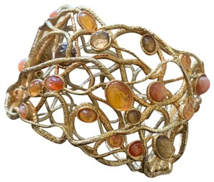Alexis Bittar Alexis bittar gold lace double layer cuff