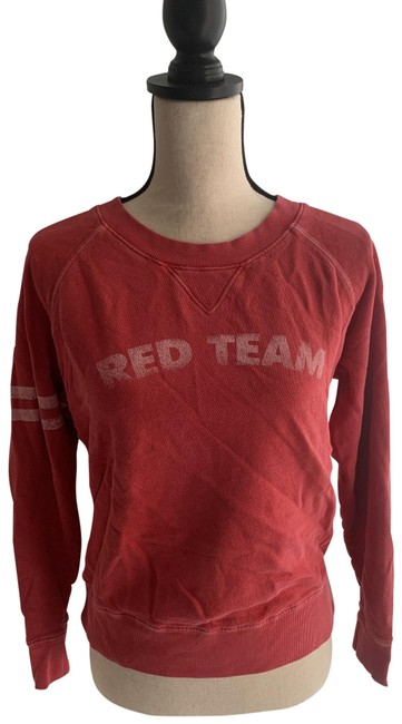 Item - Faded Red Demin The Square Sweatshirt/Hoodie Size 6 (S)