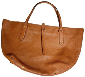 Annabel Ingall Australia Cowhide Designer Leather Suede Tote in Brown