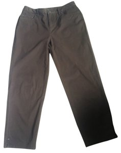 Talbots Capris Brown