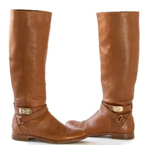 Coach caramel brown Boots
