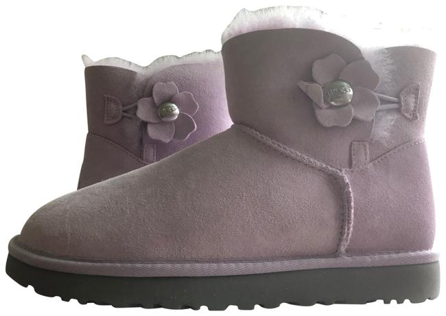 Item - Lilac Pink Bailey Button Poppy Mini Boots/Booties Size US 8 Regular (M, B)