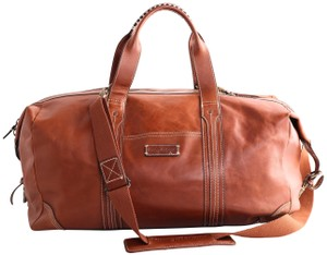 Tommy Bahama Leather Duffle Duffle Leather B Brown Travel Bag