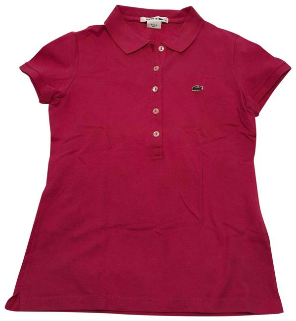 Item - Pink Hot Polo Tee Shirt Size 0 (XS)