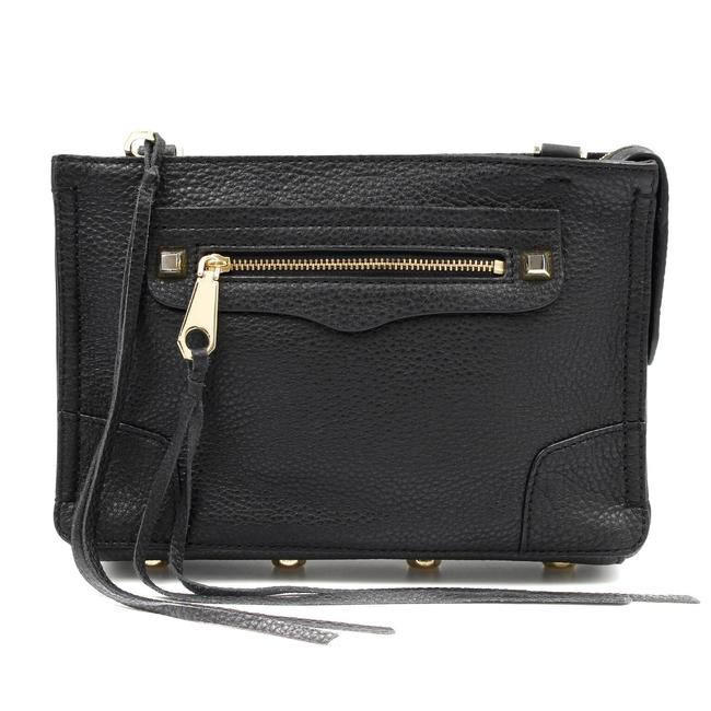 Item - Regan Women's Hs16ipbx68 Black Leather Messenger Bag