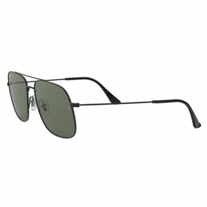 Ray-Ban Dark Green Polarized Lens RB3595 9014/9A Unisex Square