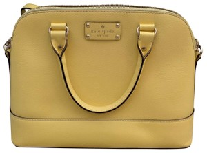 Kate Spade Satchel in yellow