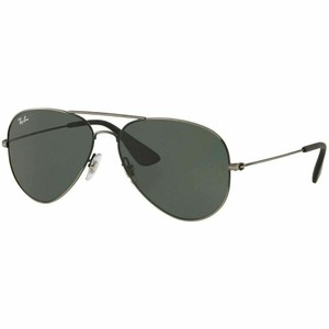 Ray-Ban Dark Green Lens Rb3558 913971 Unisex Aviator
