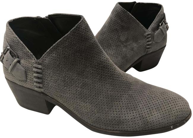 Item - Grey Parveen Pointed Toe Ankle Boots/Booties Size US 9 Regular (M, B)