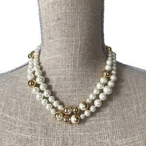 Tory Burch NEW Tory Burch Capped Crystal Pearl Long Necklace Convertible