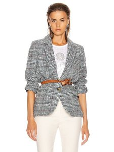 Item - Grey/Blue Kice Tweed Blazer