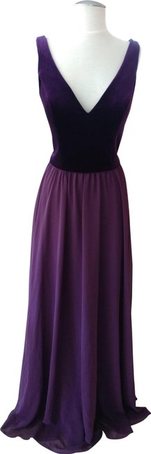 Item - Plum/Eggplant Style # 21535 Long Formal Dress Size 8 (M)