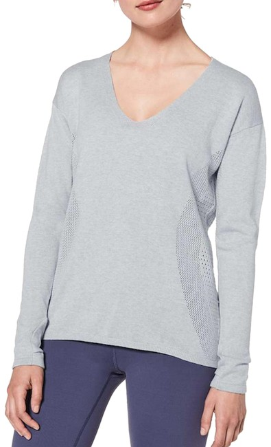 Lululemon New Still Movement Sweater Activewear Top Size 6 (S) Lululemon New Still Movement Sweater Activewear Top Size 6 (S) Image 1