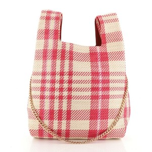 Stella McCartney Leather Tote in Neutral, Pink