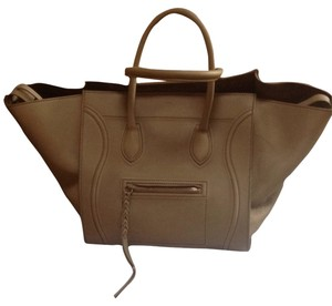 Celine Satchel in Taupe
