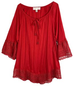 French Laundry Top Red
