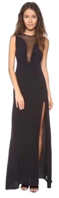 Item - Black Lulu Maxi In Long Cocktail Dress Size 2 (XS)