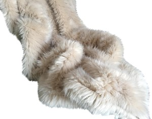 Adrienne Landau Adrienne Landau Faux Mink fur throw blanket