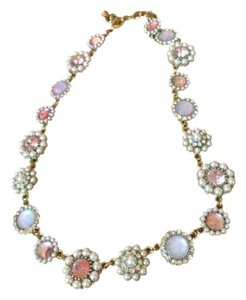 Mossimo Supply Co. Pink and Gold Necklace