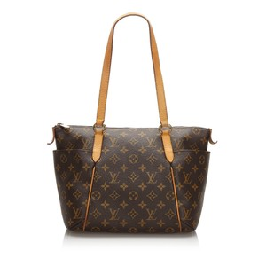 Louis Vuitton 0alvto090 Vintage Leather Tote in Brown