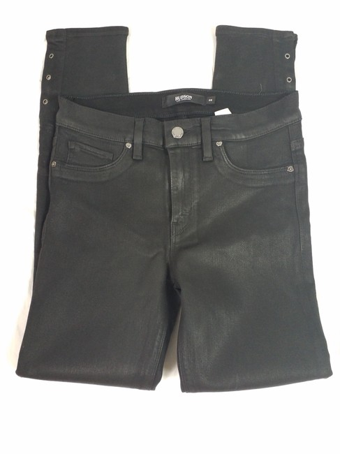 Item - Black Coated Nico High Rise Super with Grommets Skinny Jeans Size 26 (2, XS)