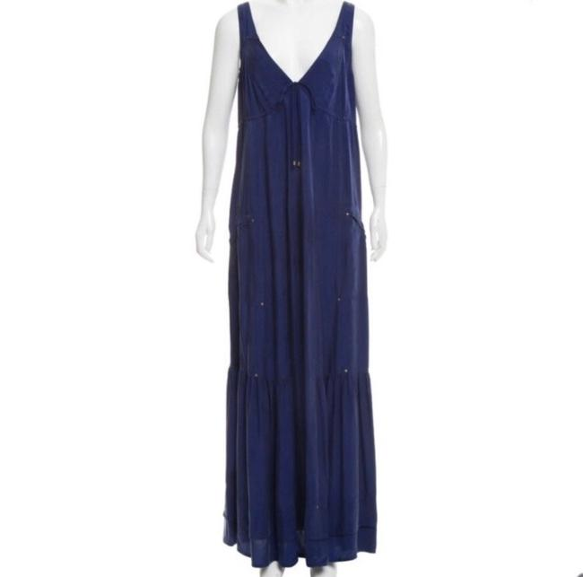 Item - Blue Verbena Long Casual Maxi Dress Size 0 (XS)