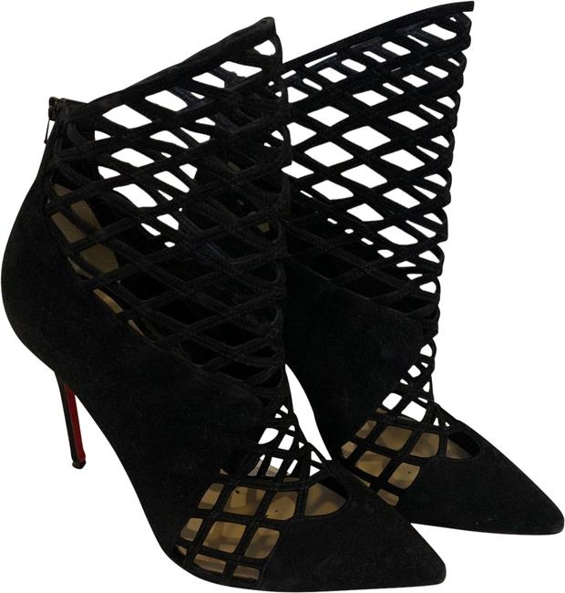 Christian Louboutin Black Boots/Booties Size EU 38.5 (Approx. US 8.5) Regular (M, B) Christian Louboutin Black Boots/Booties Size EU 38.5 (Approx. US 8.5) Regular (M, B) Image 1