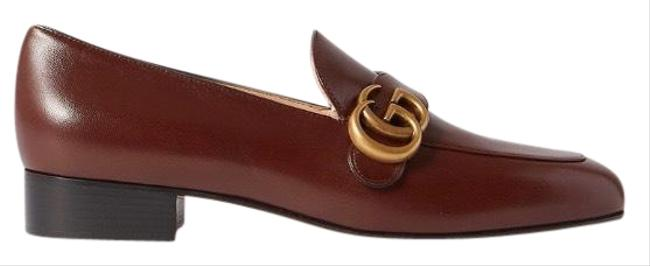 Gucci Marmont Gg Logo Leather Loafers Flats Size EU 38.5 (Approx. US 8.5) Regular (M, B) Gucci Marmont Gg Logo Leather Loafers Flats Size EU 38.5 (Approx. US 8.5) Regular (M, B) Image 1