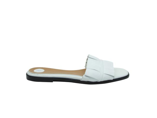 The Row White Leather Flat Sandals Size US 8 Regular (M, B) The Row White Leather Flat Sandals Size US 8 Regular (M, B) Image 1