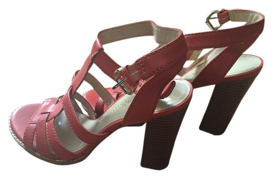 Enzo Angiolini Summer Strappy Coral Sandals